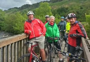 Glyncorrwg on bridge